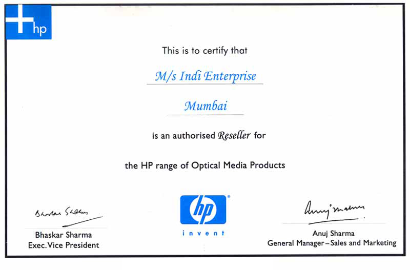 Vile Parle, Indi Enterprise, Video Editing, Online & Offline Editing ...: indienterprise.com/certificate-01.htm